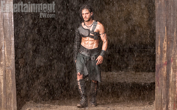 Kit Harrington in Pompeii