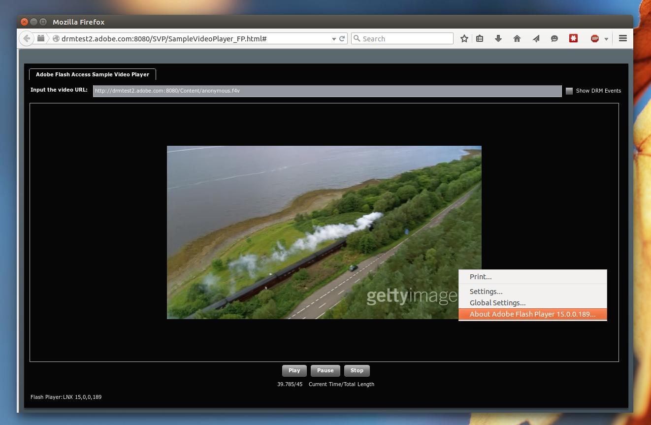 Pepper Flash Firefox Ubuntu Drm Flash Test
