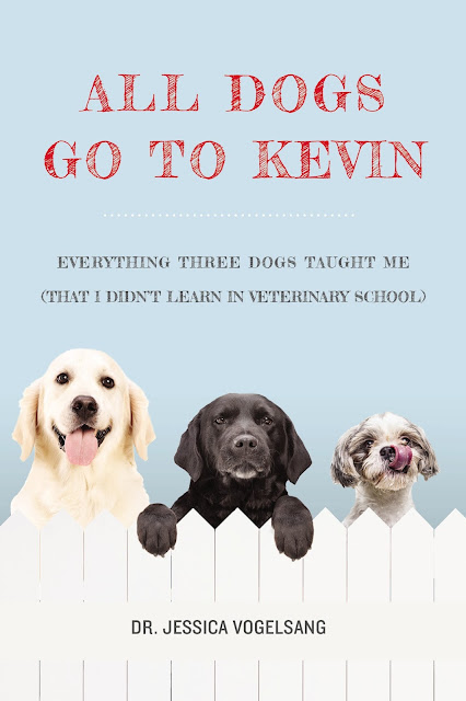 book review All Dogs Go to Kevin veterinary school memoir Dr. Jessica Vogelsang