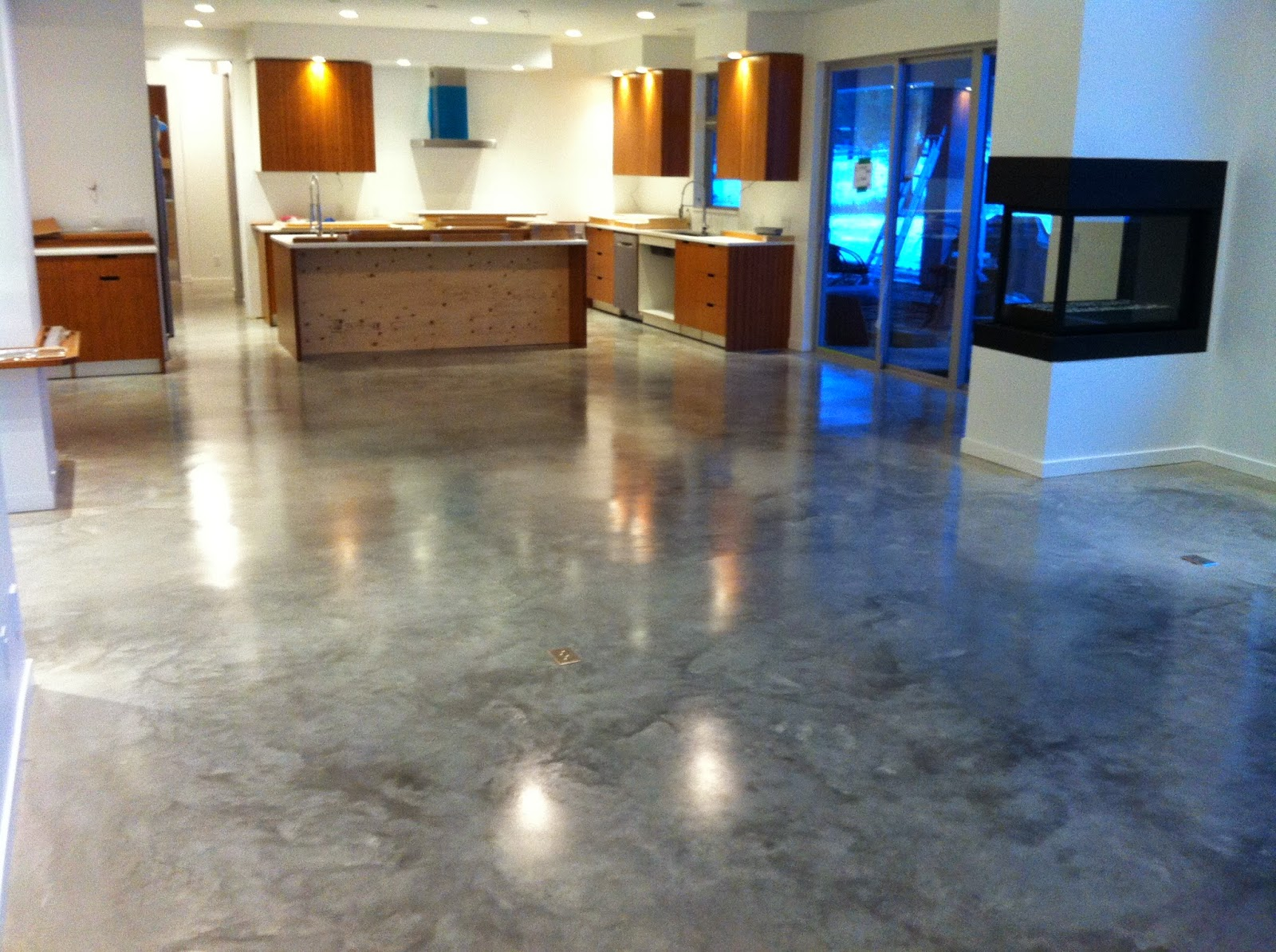 Concrete As Flooring : Mode concrete cool and modern floors by