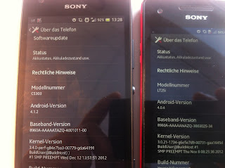 Sony Xperia SP Vs Sony Xperia V