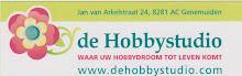 De Hobbystudio de webwinkel voor al uw creative materiaal