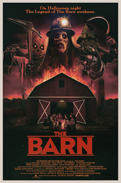 The Horrors of Halloween: THE BARN (2016) Official Trailer, Poster and ...