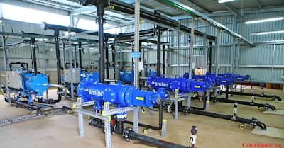 Hệ thống cung cấp nước sạch hiện đại dự án 219 Trung Kính