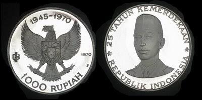 Uang Koin Pecahan 1.000 Rupiah 1970