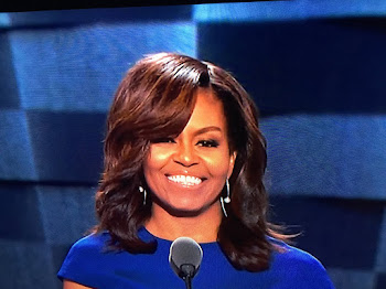 Michelle Obama Wows Convention Eight Years Later