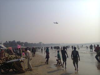 Juhu beach Air plane