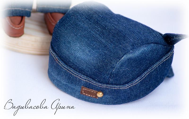 Бандана из джинса
