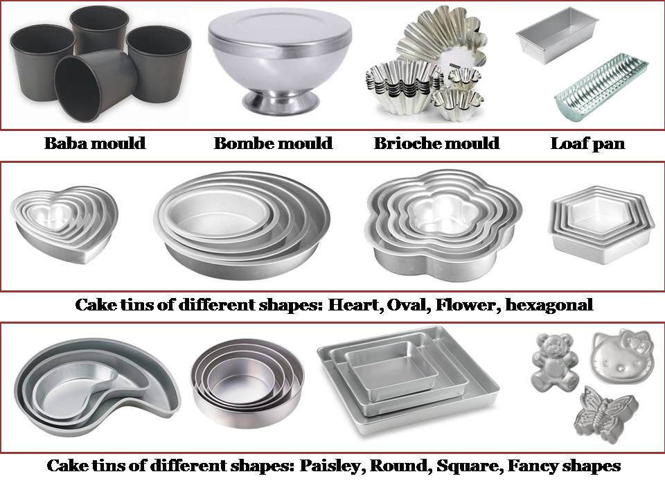 Different Types Cake Pans And Their Uses