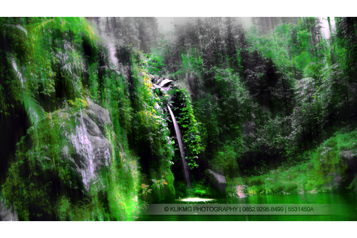 Curug Buatan di Baturaden Foto oleh Klikmg.com Fotogri - Fotografer Purwokerto