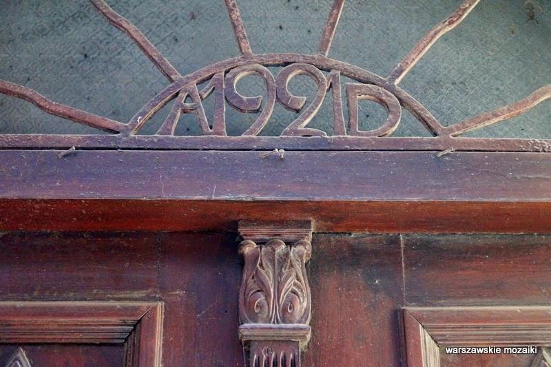 ulica Stare Miasto kamienice stolica 1921