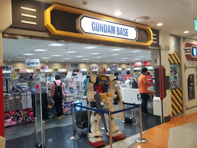 Gundam Base in Yongsan