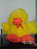 Boneka Bebek warna kuning