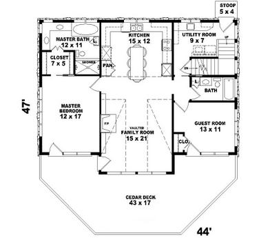 Planos De Casas De 80 Metros Cuadrados on 24 x 50 house plans