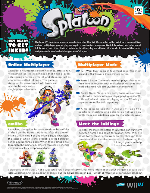 Splatoon for the Wii U