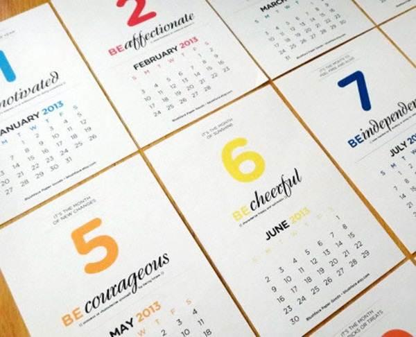 kalendar-2013-be-you