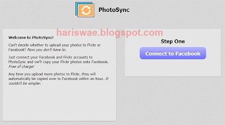 PhotoSync: Upload Foto ke Facebook Otomatis dari Flickr