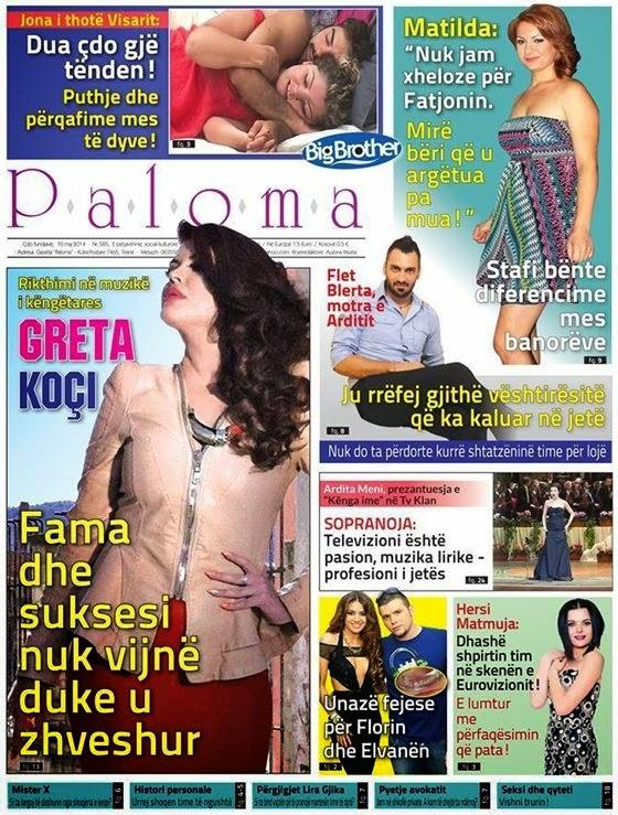 Revista PALOMA - 10 Maj 2014