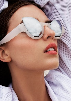 style next door- geometrical sunglasses