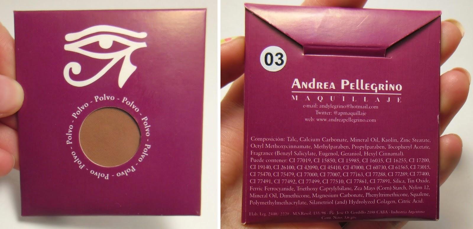 Polvo compacto Andrea Pellegrino