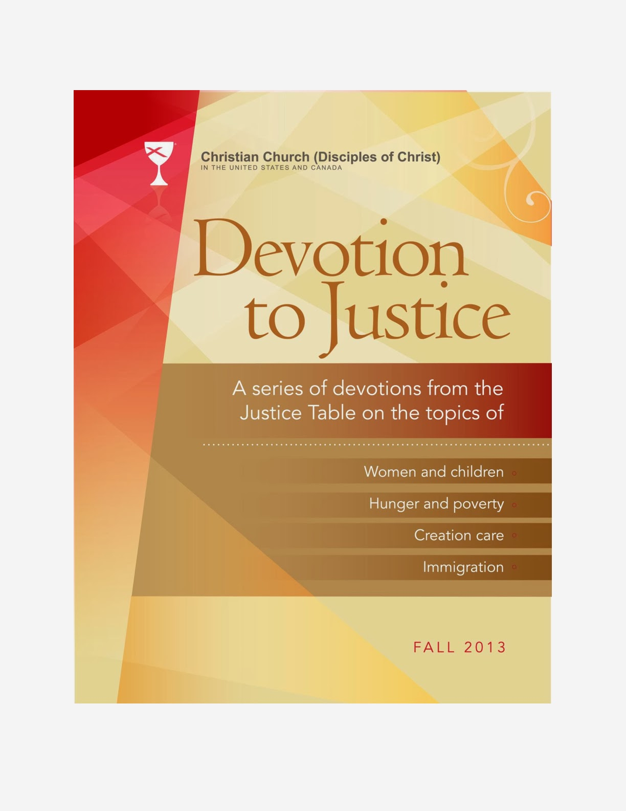 NEW:  Justice Devotional