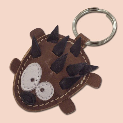 Hedgehog Keychain On Etsy