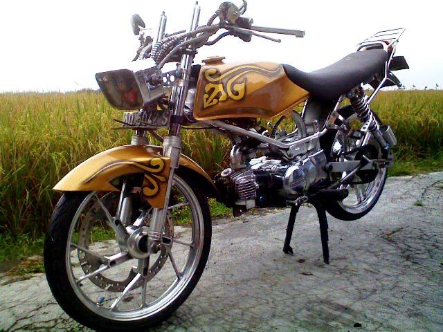 motor motor honda win 100 dibawah ini dengan desain modifikasinya title=