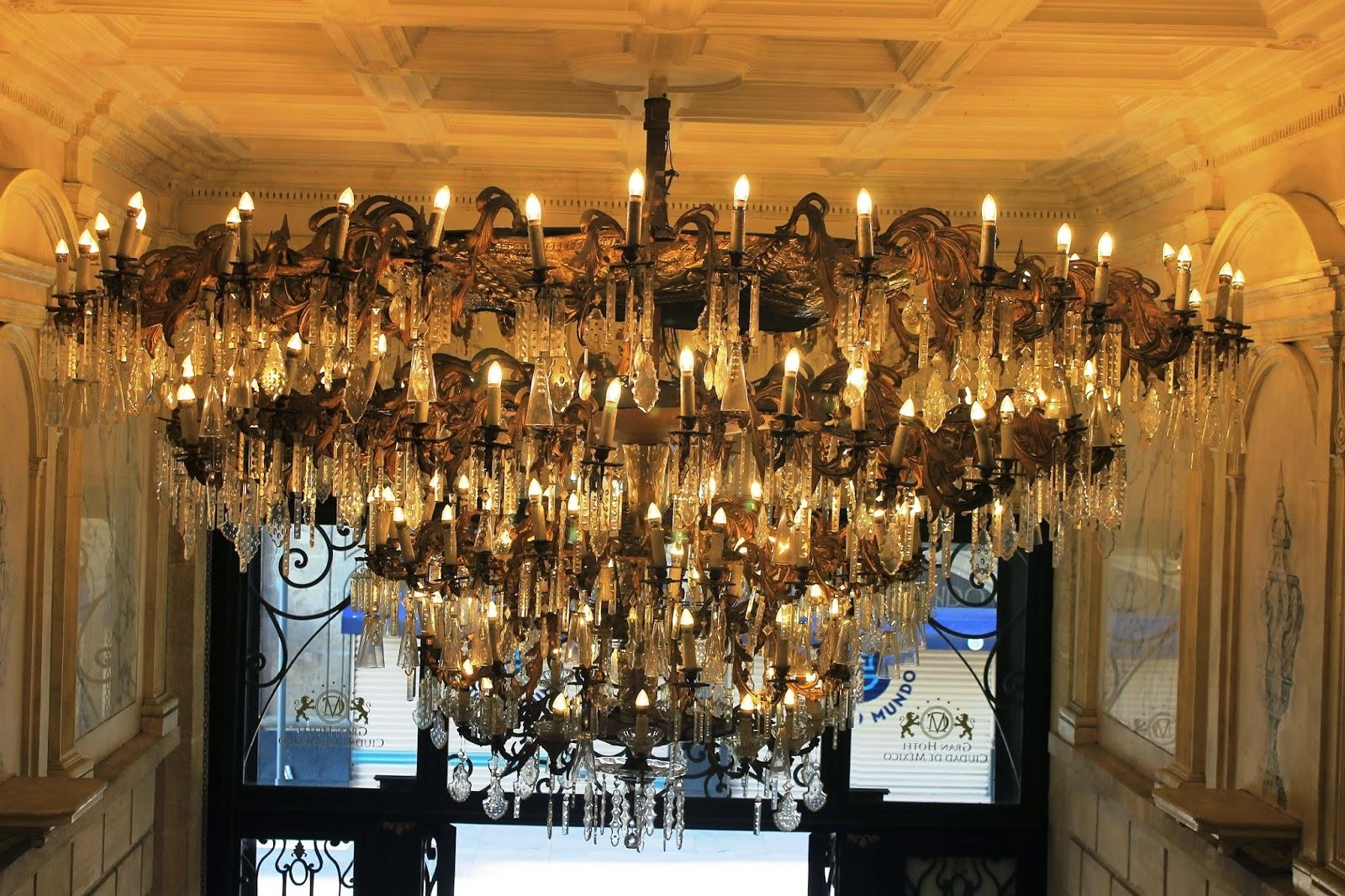 chandelier gran hotel ciudad de mexico