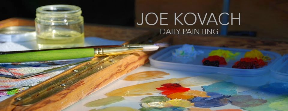 Joe Kovach Daily Painting