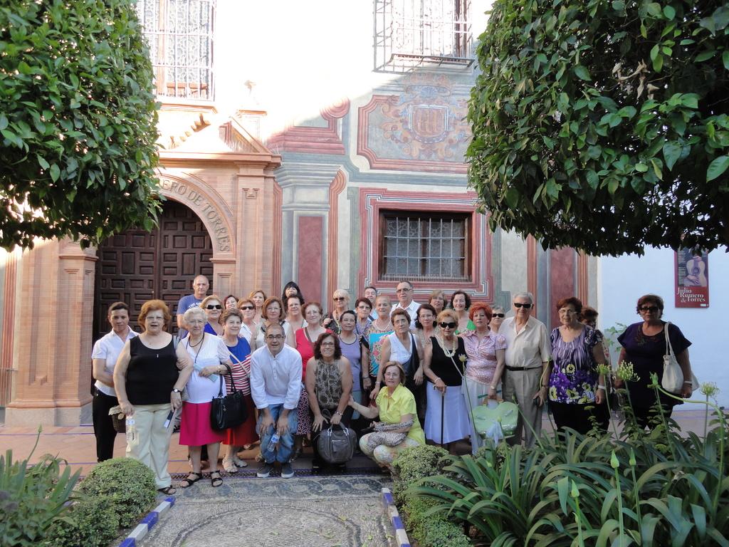 CENTRO DE ADULTOS PARQUE FIGUEROA: VISITA AL MUSEO JULIO ROMERO DE TORRES