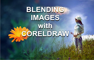how to blend images using CorelDraw X3