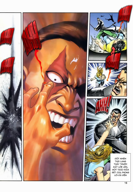Long Hổ Phong Bạo chap 3 - Trang 16