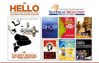 DPAC Suntrust Broadway Season