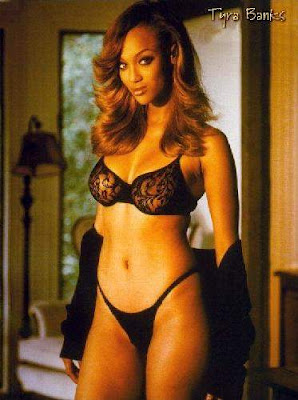 hot celebrity hollywood model tyra banks unseen hot