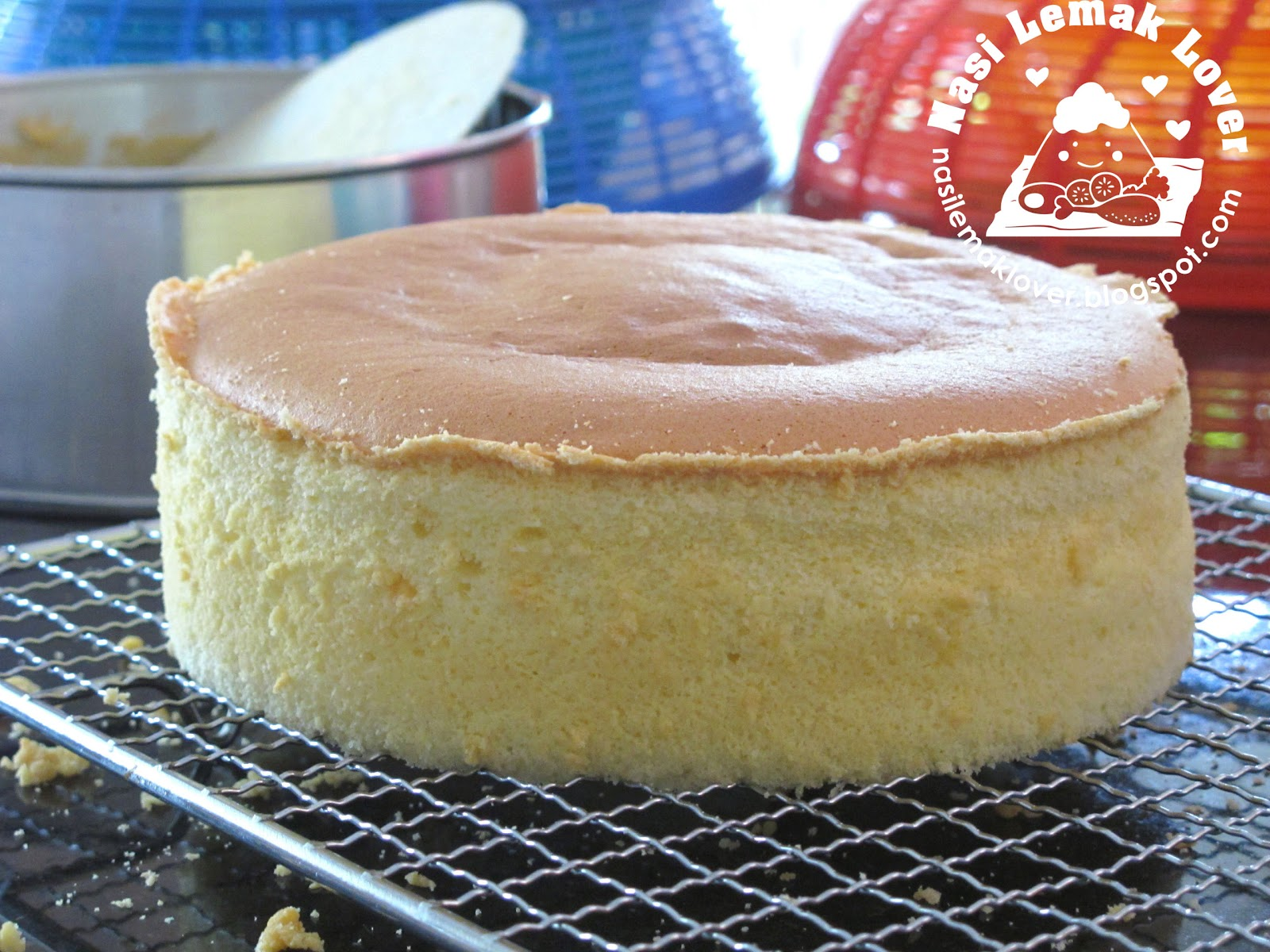 Basic Sponge Cake Without Baking Powder