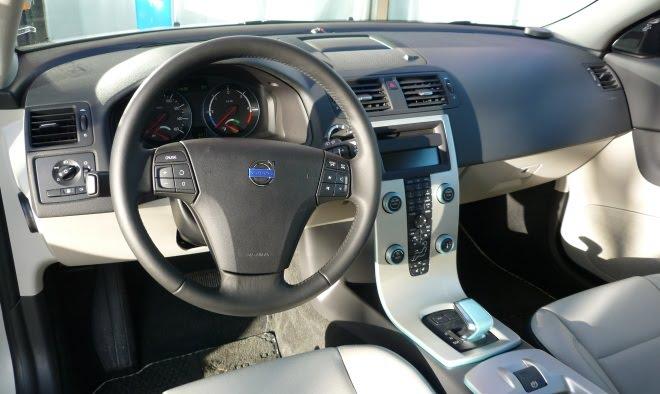 Volvo C30 DRIVe Electric interior