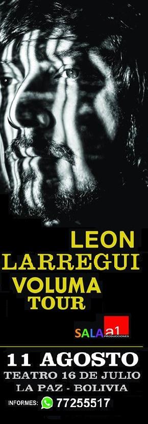 León Larregui en Bolivia