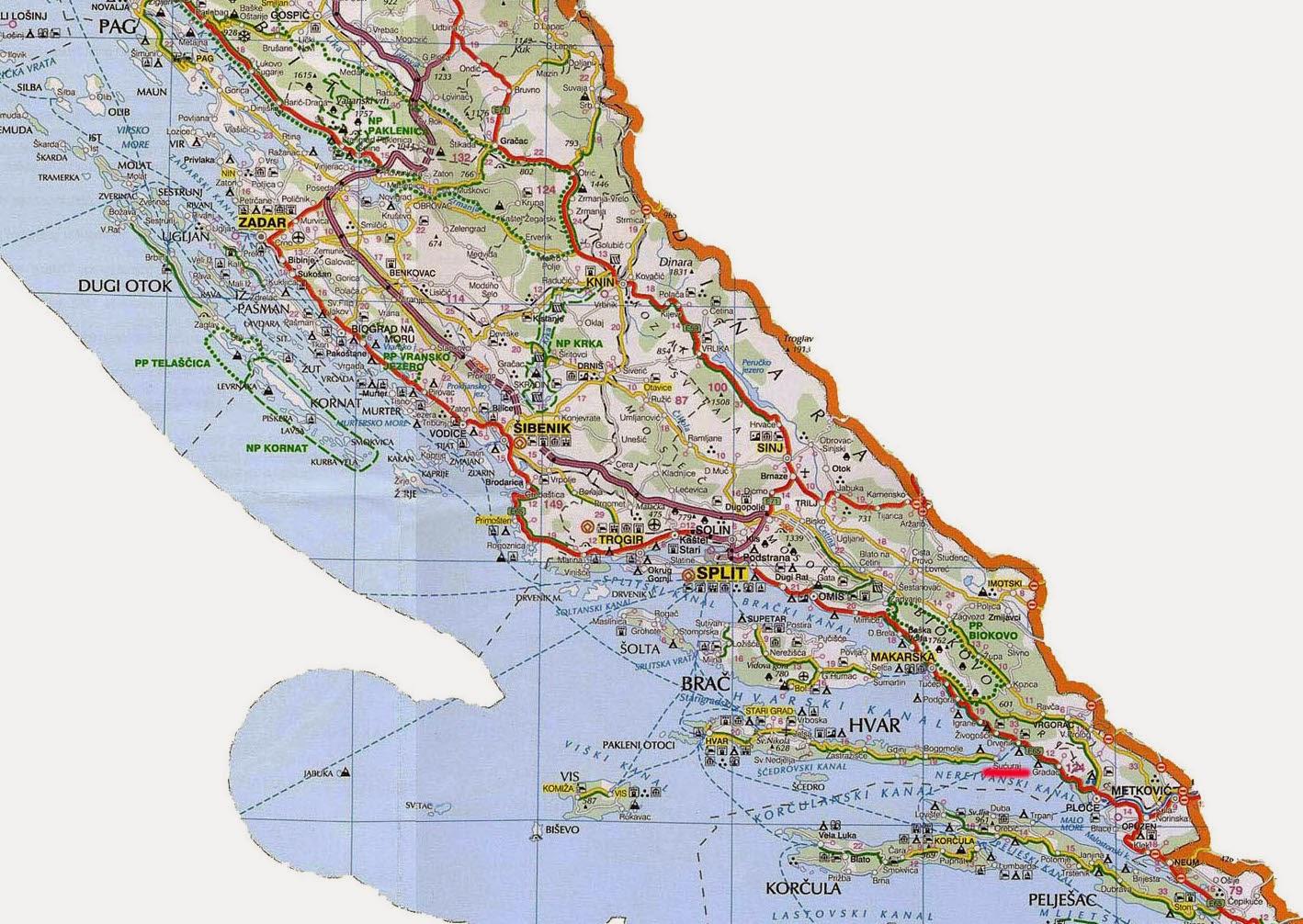 Aprendendo Croata: DALMACIJA