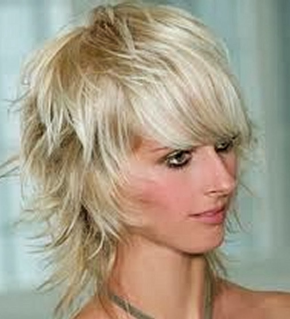 shaggy hairstyles for women messy short shaggy with hair haighlight