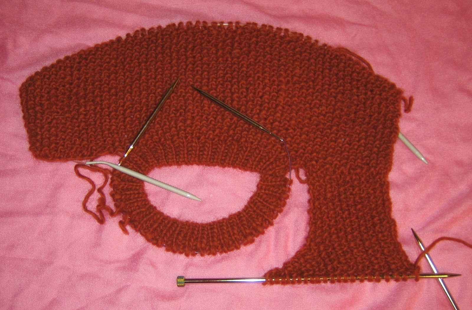 Knitting Pick Up Stitches From Cast On Edge : knitting