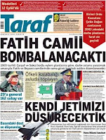 Taraf Daily cover page