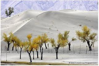 Cold Desert of Skardu in Pakistan.