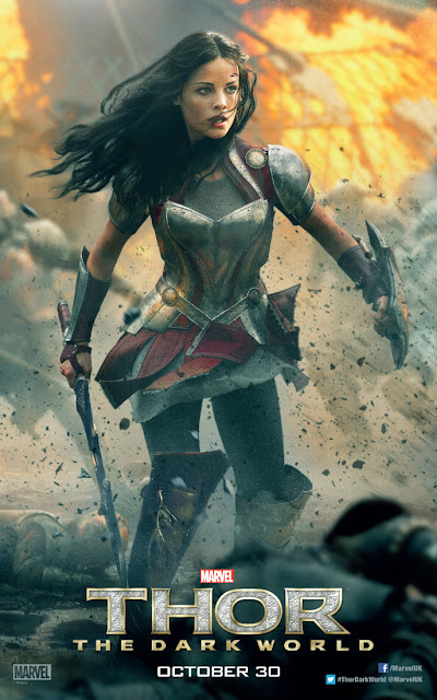 Thor: The Dark World Jaimie Alexander Sif Character Banner
