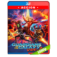 Guardianes de la galaxia Vol. 2 (2017) 3D SBS 1080p Audio Dual Latino-Ingles