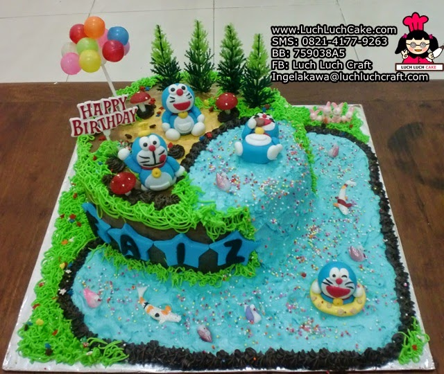 Kue Tart Ulang Tahun Doraemon