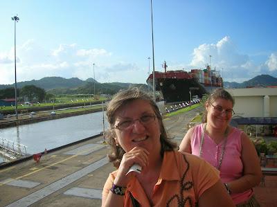 Esclura Miraflores, canal de Panamá, round the world, La vuelta al mundo de Asun y Ricardo, mundoporlibre.com