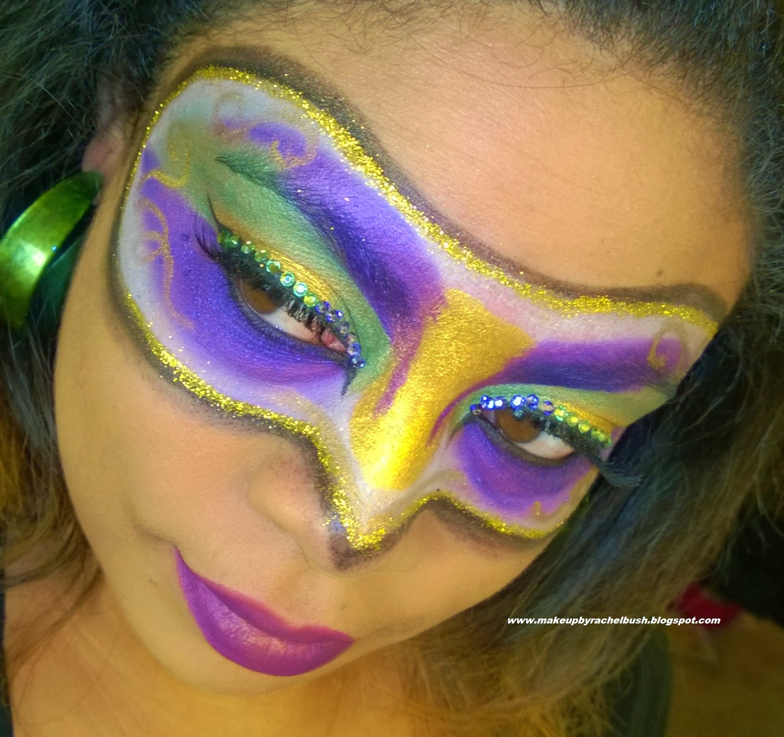 So Glam I Am In Honor Of Fat Tuesdayrdi Gras Mask