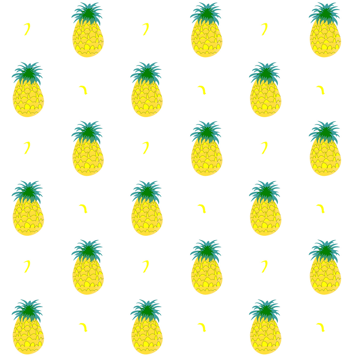 Pineapple pattern background - photo#8