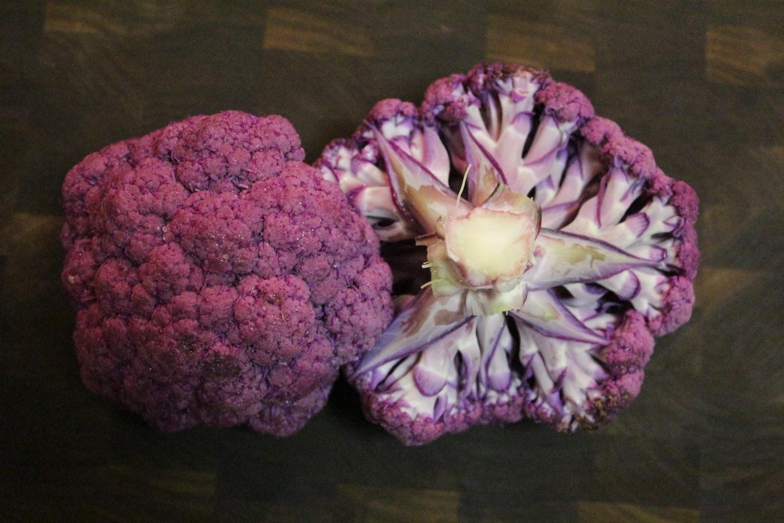 Runaway Apricot   Purple Cauliflower
