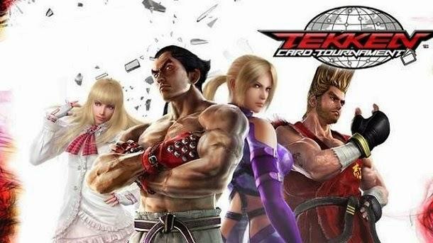 Entre no combate e seja o melhor lutador de Tekken Card Tournament
